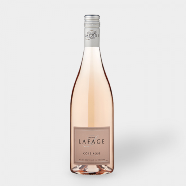 "COTE ROSE ""Catalanes Domaine Lafage"""