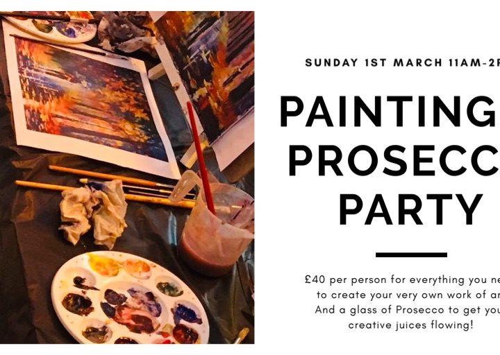 Painting & Prosecco Party