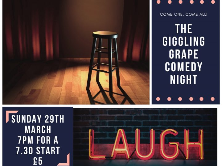 The Giggling Grape Comedy Night