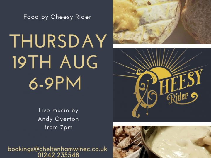 Food by Cheesy Rider – August 19th 2021